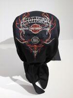 Harley Davidson Skull Flames Bandana Kappe Mütze Kopftuch schwarz 99435-16VM