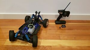 KYOSHO INFERNO MP7.5 1/8 SCALE 4X4 NITRO BUGGY ROLLER + TX + RX