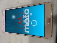 Motorola Moto G5S Plus 32GB Unlocked Smartphone, Blush Gold SN212575