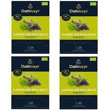Pyramidentee Garten der Provence Bio 4 Tee Packung á 20 x 2,5g Dallmayr