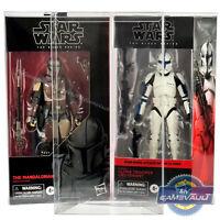 "Star Wars DISPLAY CASE The Black Series 6"""" Figure 0.5mm PET BOX PROTECTOR"