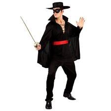 Adulto ZORRO Deluxe Muscle Chest Costume Supereroe Uomo Gents MASCHIO miliardi