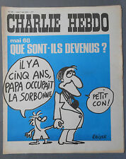 ►CHARLIE HEBDO N°129  - MAI 1973 - REISER
