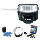 NEW Canon Speedlite 270EX II Flash 4 Piece Bundle for 7D 60D T3 5D XSi Camera