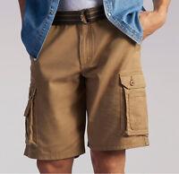 Mens Lee Dungaree Wyoming Cargo Shorts Pants Bourbon Big Tall 44, 46, 48, 50
