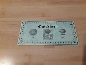 2 Gutscheine für eine Ballonfahrt(jeder Gutschein 199Euro)Einzelverkauf möglich