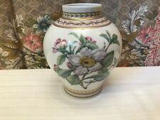 Vase tolles Blumendekor AK Kaiser  Plantage Dekor  K. Nossek