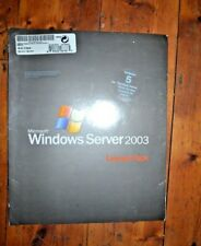 Microsoft Windows Server 2003 Standard Edition 5 CAL  Retail Licence Pack
