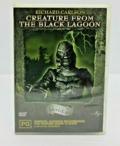 The  Creature From The Black Lagoon (DVD 2004) 1954 movie Region 4 Free post