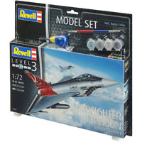 Maquette Revell Model Set AVION Eurofighter Typhoon échelle 1/72, référence 6395