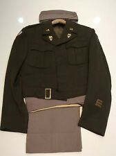 Original WWII U.S. AIDE TO LIEUTENANT GENERAL UNIFORM NAMED HISTORY PROVENANCE