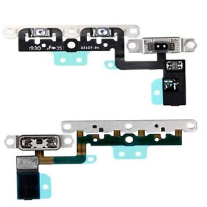 For iPhone 11 Volume Flex Cable With Mute Switch & Metal Brackets Replacement