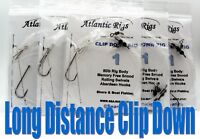 5 LONG DISTANCE CLIP DOWN SEA FISHING RIGS COD BASS ATTRACTOR PENNEL LUMINOUS