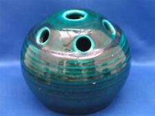 ACCOLAY POTTERY FRANCE  SPHERICAL FLOWER VASE  / FROG 1950s