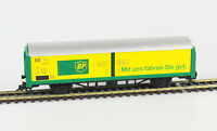 FLEISCHMANN Spur H0 5336 K Schiebewandwagen Hbis 299, BP, DB, Epoche IV, KKK