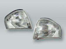 TYC Clear Corner Lights Parking Lamps PAIR fits 1994-2000 MB C-Class W202