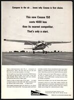 1965 CESSNA 150 Vintage Aircraft Plane Airplane Aviation AD