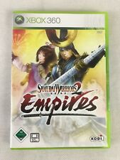 Xbox 360 Samurai Warriors 2 Empires, German, New & TAB Sealed, No Cellophane