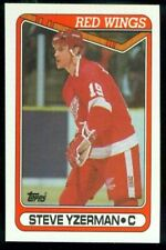 1990-91 TOPPS DETROIT RED WINGS TEAM SET (18)