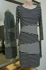 Viscose Cocktail Stretch, Bodycon Striped Dresses for Women