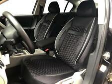 Sitzbezüge Schonbezüge für Seat Leon schwarz-weiss V1823598 Vordersitze