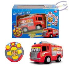 Dickie Toys Happy RC Fire Truck 27cm MOTORIZED, LITGHT SOUND NEW CAMION POMPIER