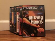 COMBAT SILAT SERIES (6) DVD SET edged weapons empty hand pencak indonesian serak