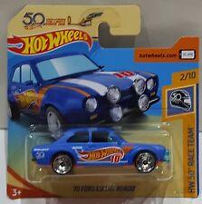 Hot Wheels 2018' 70 ford escort rs1600 HW 50 Race Team fjx45