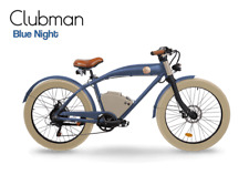 Rayvolt Clubman E-Bike, 250w, PAS, 10.5ah Battery 40 Miles 7 Speed Leather NEW