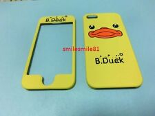 5G High quality B.Duck Face <Front & back> hard Case Cover For iphone 5 5G 5S