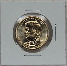 Andrew Johnson 2011 P Presidential Dollar Coin Uncirculated Philadelphia BU