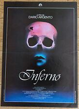Affiche de cinéma : INFERNO de DARIO ARGENTO