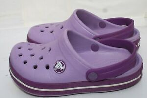 Crocs size 11  Toddler, Kids Girls Crocs Girls Purple Color