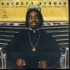 7inch BARRETT STRONG stand up & cheer for the preacher RARE SOUL/FUNK HOLLAND EX