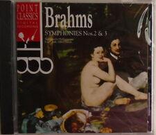 BRAHMS - CD - Symphonies Nos. 2 & 3 - Point Classics - BRAND NEW