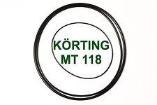 SET CINGHIE KÖRTING MT 118 REGISTRATORE A BOBINE EXTRA FORTI FRESCHE MT118