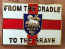 Preston un Culla alla Tomba dello smalto pin badge