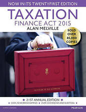 Taxation:Finance Act 2015: Finance Act 2015,PB,Alan Melville  - Like  NEW