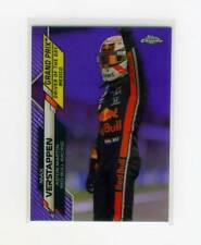 New listing 2020 Topps Chrome Formula 1 Purple Refractor Max Verstappen #/399 SP #171