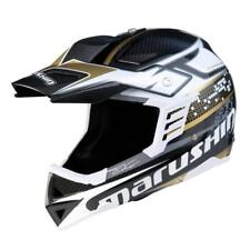 Marushin RS-MX ET Carbono Soneki oro XXL. Cascos cross/enduro super ligero.