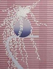 """Lee White """"Sanya"""" Hand Signed & Numbered Artwork Serigraph floral still life OBO"""
