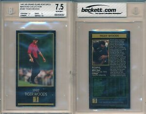 Tiger Woods 1997 1998 Masters Collection Champions Golf Rookie Card Rc BGS 7.5