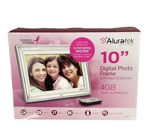 """Aluratek 10"""" Slim digital photo frame"""