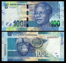 South Africa 2014 or 2016 year 100 Rand BrandNew Banknotes(Year of random)