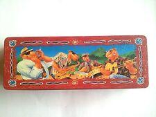 """Joe Camel Vintage Cigarette Carton Jazz Band Tin Can 12"""" 1994 Collector Tobacco"""