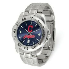 MLB Cleveland Indians Mens Sport Steel Watch Style: XWM3491 $64.80
