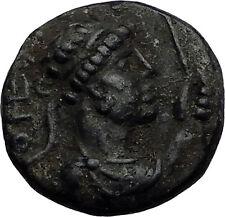 VIMA TAKTO Soter Megas 80AD Kushan India Empire Tetradrachm Greek Coin i58736