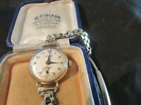 Lovely Vintage Ladies Quality 9ct Gold Accurist Watch, Chester,1958