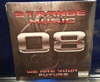 Tech N9ne - Strange Music 08 Sampler CD SEALED ill bill horrorcore prozak new