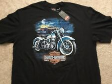 Harley Davidson Duo Glide Black Shirt Nwt Men's Large